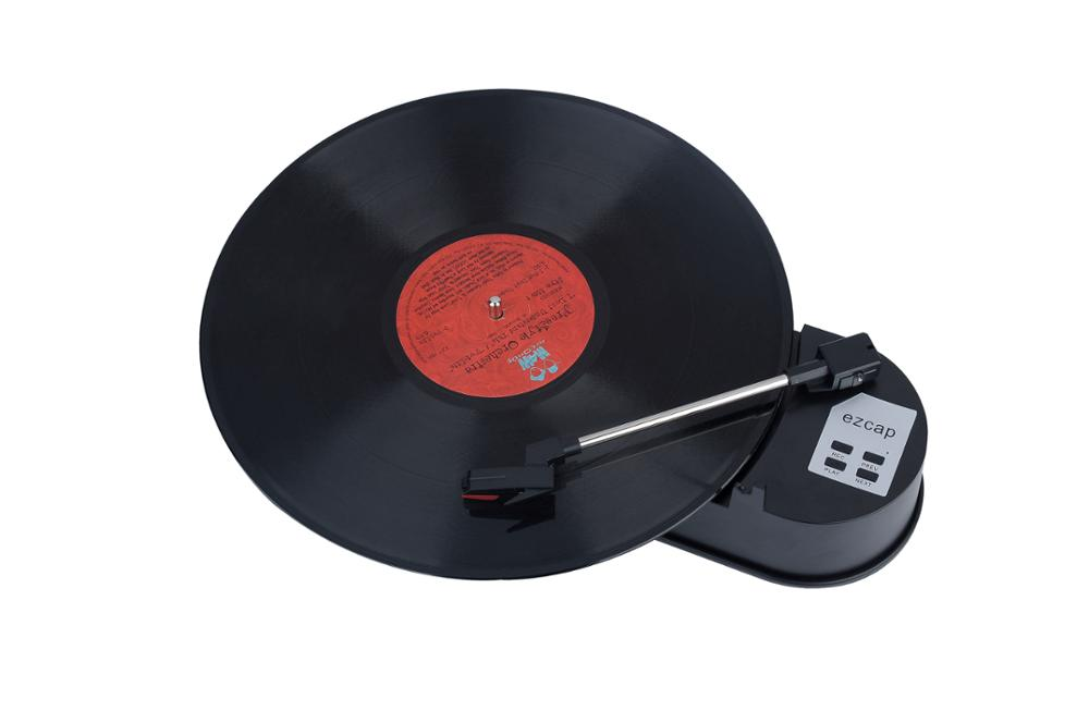 Turntable Converter Player Vinyl to MP3 no PC required both 33 and 45rpm ezcap613