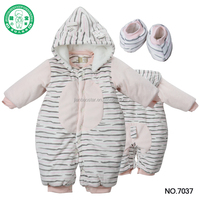 Wholesale price long sleeve newborn girl romper sets baby clothes for winter