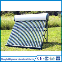 Low Pressurized Integrated Solar Water Heater 58mm/1800mm Vacuum Tube