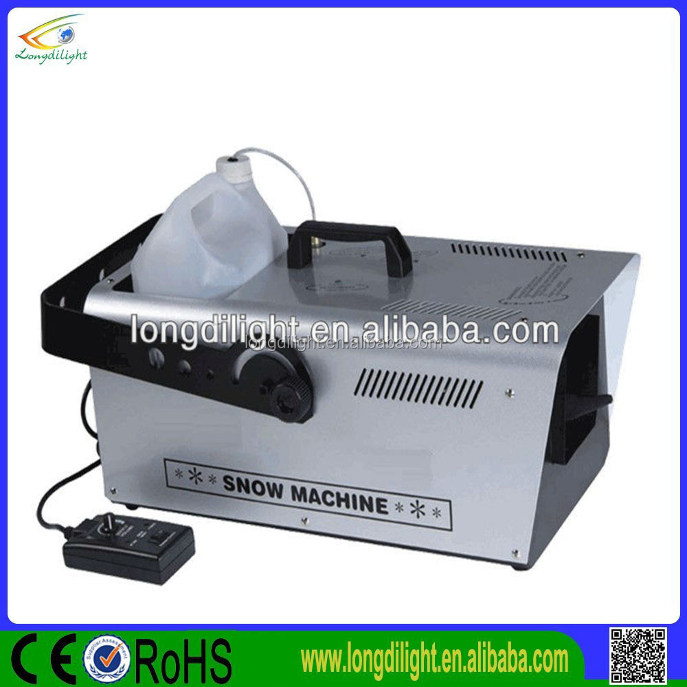 High quality Stage equiment DMX512 1500w snow machine