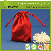 new products customized printed drawstring gift satin bag