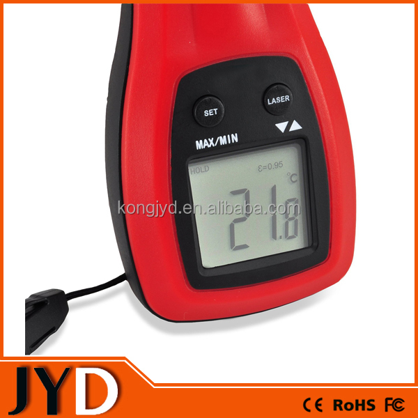 JYD-DIT03 Easy To Read Digital Infrared Kitchen Thermometer With Temperature Indicator