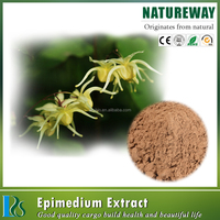 100% Natural Sex Product 10%-98% icariin Epimedium Leaf Extract