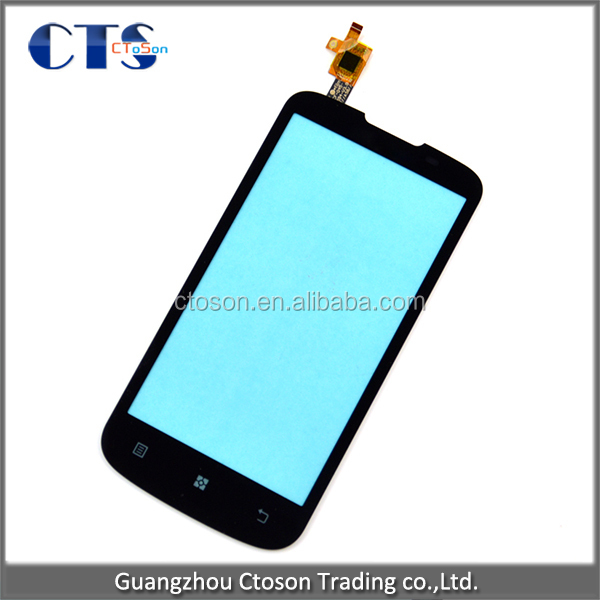 One by one tested lcd display for lenovo A800 touch screen,front glass touch panel for Lenovo with fast delivery!!!
