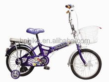 New design chainless folding bicycle