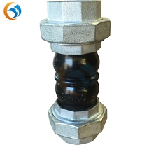 union type flexible threaded ends rubber expansion joint