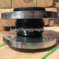 single convolutions with ST37.2 floating flanges pn16 rubber expansion joint