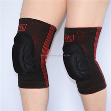 Cotton knitted elastic sponge kneepad volleyball kneelet knee pad for football