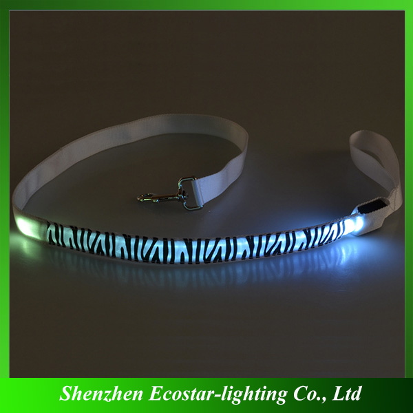 Fashionable Light-up LED Dog Leash for Christmas Decoration