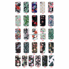 Mobile phone accessories,Custom for iPhone 7 flower case IMD Printing