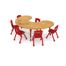 Kindergarten6-Seaters Kids Table and Chairs for Children