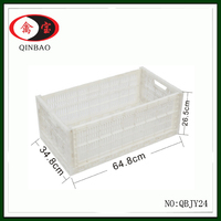 Plastic egg crate foldable storage box egg cage