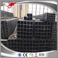 ectangular/square steel pipe/tubes/hollow section galvanized/black annealing at lowest