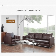 Hot sale office furniture high quality PU office sofa 3 seater sofa