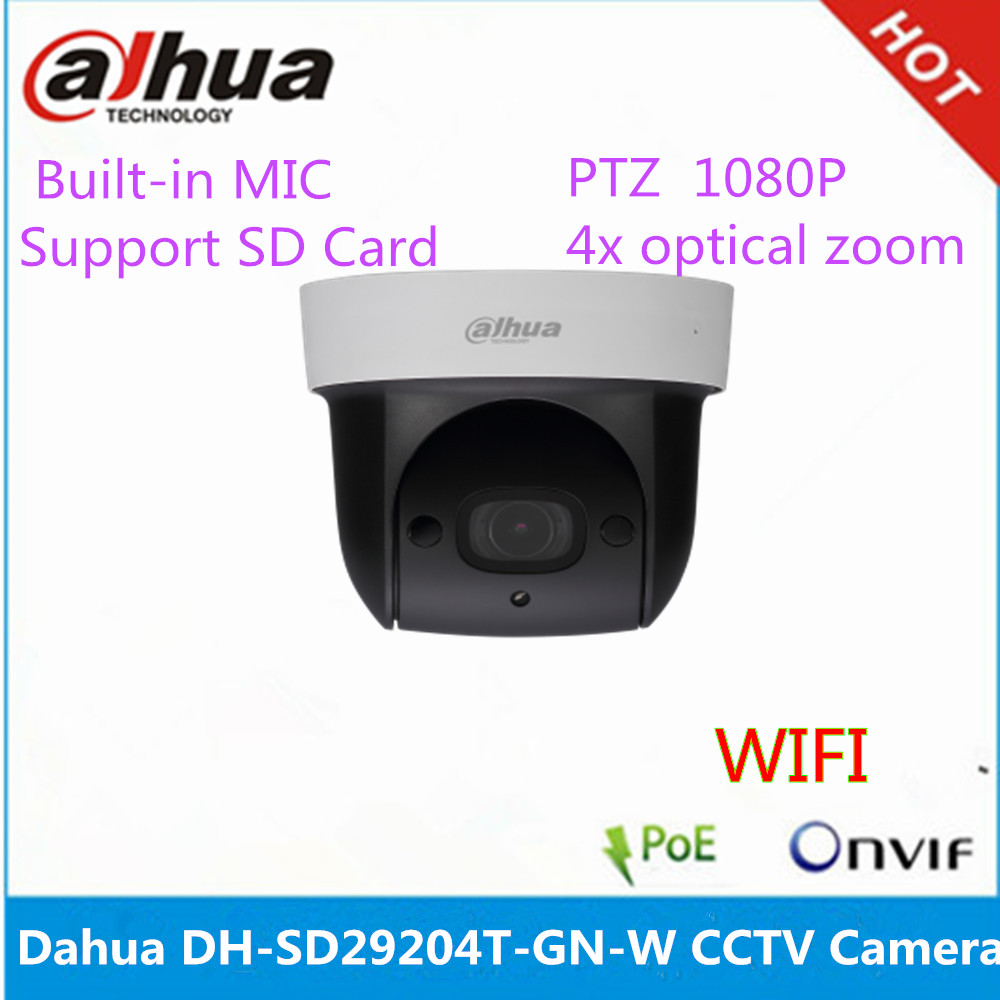 Dahua wifi security camera DH-SD29204T-GN-<strong>W</strong> 4x optical zoom built-in MIC ip dome camera
