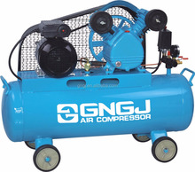 High pressure piston portable belt driven air compressor for sale