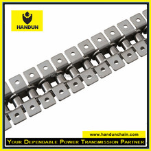 Stainless Steel roller chain with K1 attachment every link