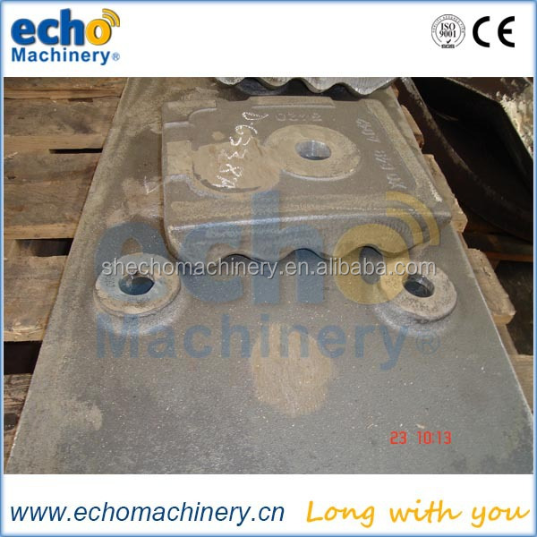 high quality good wear resistance ball mill liner plate