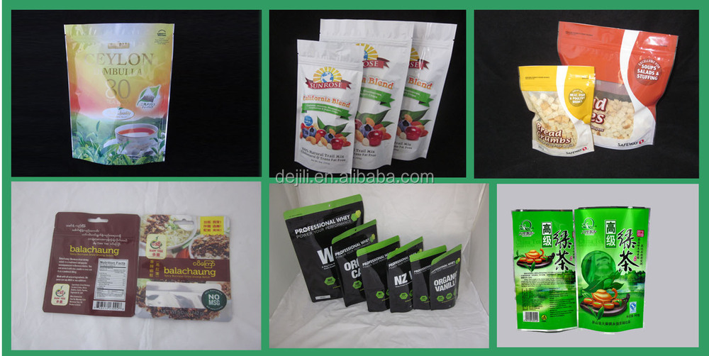 2015 Flexible Laminate Packaging For Snack Food