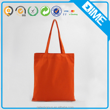 Promotional Eco Friendly Natural Handled Organic Cotton Bag For Girl