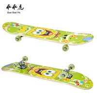 Supply professional various graphics wood skateboard deck Canadian maple wood fingerboard deck