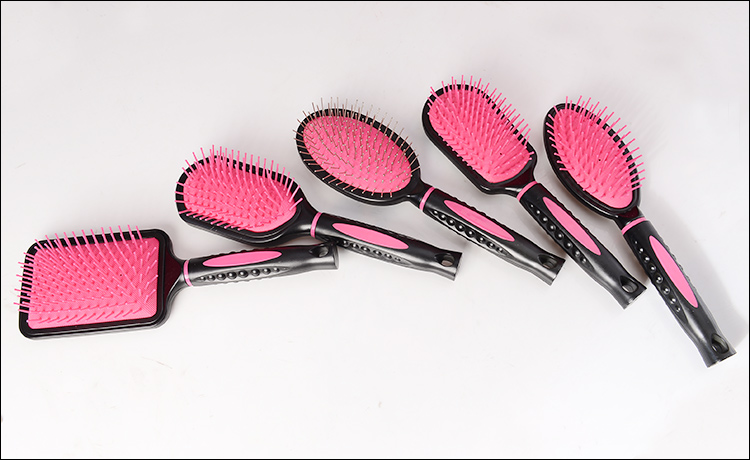 New UK Style Detangle Comb Compact Styler Brush Hairbrushes