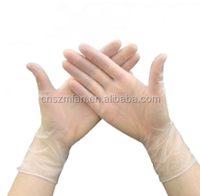 Cheap disposable powder free vinyl pvc medical working gloves