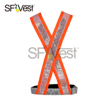 PVC safety clear road reflective belt