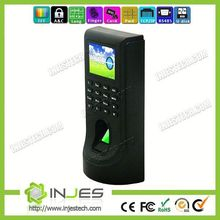 INJES Security Device Web Server Building Access Control with Finger Print Reader