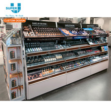 China Wholesale Beauty Products Shop Shelf Display for Cosmetics Display Shelves