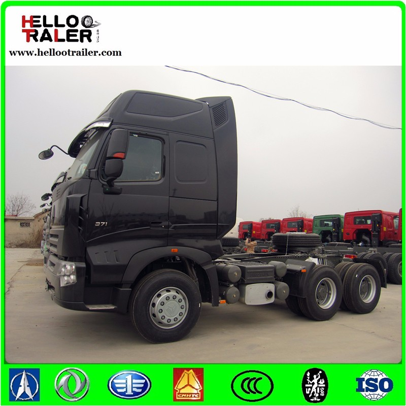 China A7 sinotruck howo 6x4 tractor truck