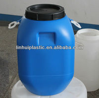 Blowing mould plastic drum with lid and handle