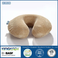 KINGKADY 2015 Soft U Shape Neck Protection Health Care Pillow Comfortable Business Trip Cushion, Memory Foam Pillow