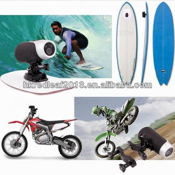 HD 720P extreme sport camera for motorbike