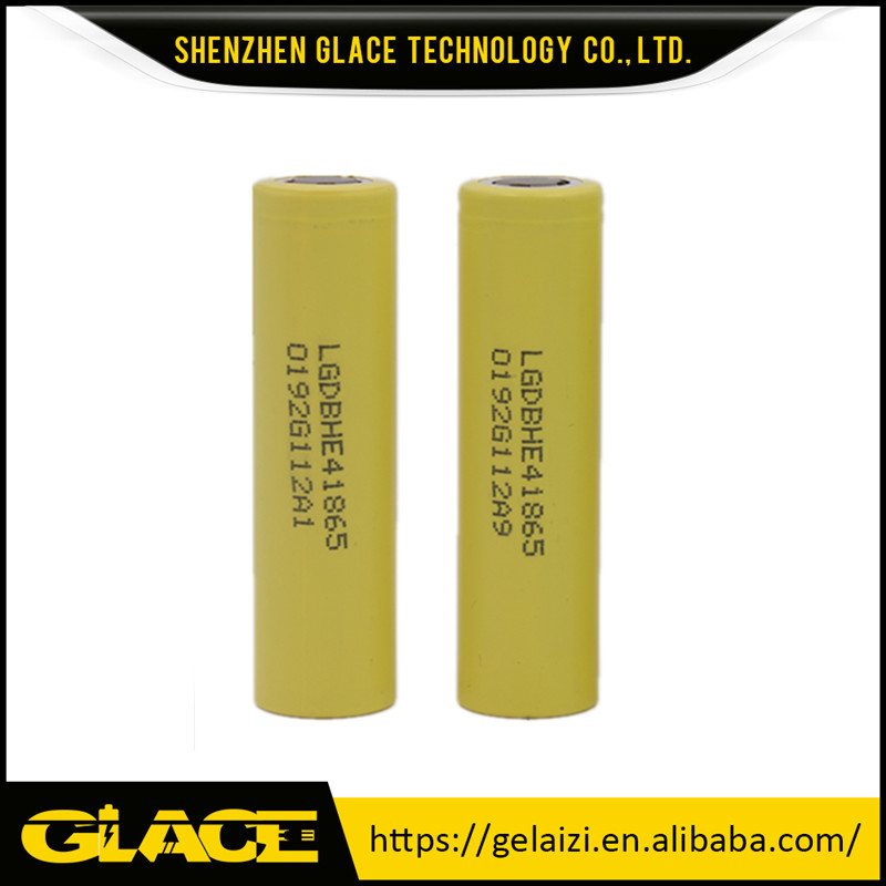 High amp high drain high discharge 35A power battery cell LG 3.6V 2500mah HE4 18650 superior power tools
