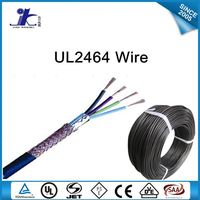 high quality UL2464 PVC stranded shielded 24 awg multicore electrical cable
