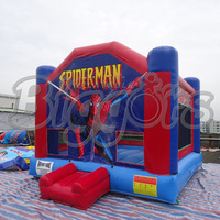 Hot Outdoor Spiderman Inflatable Bounce House For Rent