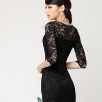 Top Selling! Sex Party Lace Dress Lady Dresses Fashion Bandage Dresses