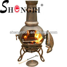 Shengri Venetian clay chimineas for sale