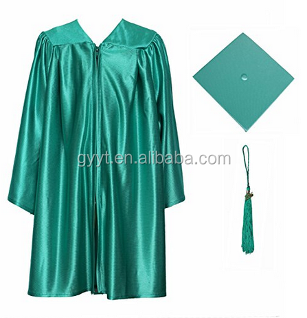 Excellent handwork Graduation gowns chlidren hats