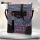 2017 Spring And Summer New Ethnic Printing Canvas Female Messenger Bag