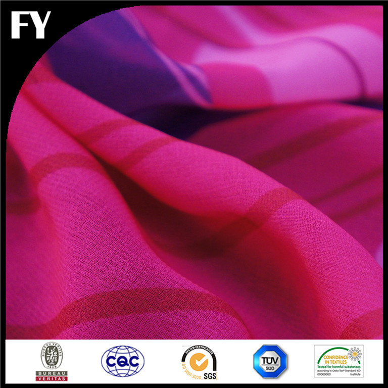 2015 Summer hot sale digital print polyester cationic interlock knitted fabric