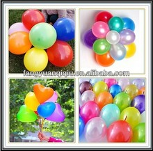 china manufacturer diiferent shape latex balloon
