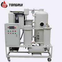Automatic Hydraulic Oil Process Machine Waste Gear Oil Fluids Filtration System