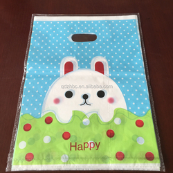 fashion design Plastic Shopping Carrier Bags Merchandise Bags for clothes