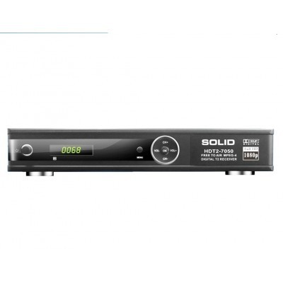 Solid HDT2-7050 HD, DVB-T2 Digital Set-Top Box With Dolby DigitalSolid HDT2-7050 HD, DVB-T2 Digital Set-Top Box With Dolby Dig