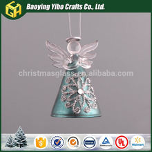 Hot selling wholesale home decor accessories light up glass angel
