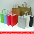 Asia Alibaba Different Type Recycle Flat Handle Shopping Paper Bag For Supermarket