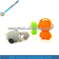 eco friendly silicone usb flash drive audio player