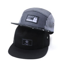 wholesale woven patch custom logo 5 panel hats/ cotton blank 5 panel hat